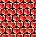 Valentine diamonds Royalty Free Stock Photography