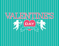 Valentine Emblem Stock Photography
