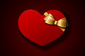 Valentine gift Stock Images