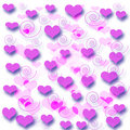 Valentine gift paper Stock Photos