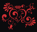Valentine heart Royalty Free Stock Photography