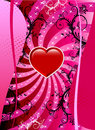 Valentine Heart Background Stock Photo