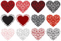 Valentine Hearts Stock Photo