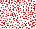 Valentine hearts seamless background Royalty Free Stock Images