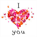 Valentine I Love you Royalty Free Stock Photos