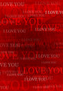 Valentine i love you background Royalty Free Stock Photo