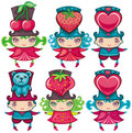 Valentine kids Royalty Free Stock Image