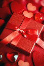 Valentine love gift Royalty Free Stock Images