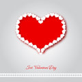 Valentine love heart Royalty Free Stock Image