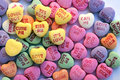 Valentine Love Heart Candy Stock Photos