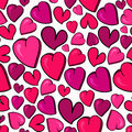 Valentine love heart pattern Royalty Free Stock Images