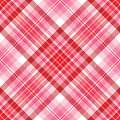Valentine Plaid Royalty Free Stock Photos
