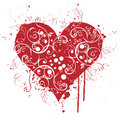 Valentine, red, Heart, love Stock Image