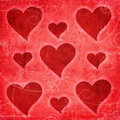 Valentine retro background Royalty Free Stock Photos