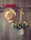 Valentine Roses Royalty Free Stock Photo