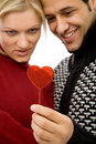 Valentine's couple Royalty Free Stock Images