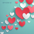 Valentine s day abstract background vector illustration Royalty Free Stock Photos