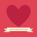 Valentine s day abstract happy text on special background Royalty Free Stock Images