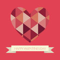 Valentine s day abstract happy text on special background Stock Image