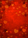 Valentine s day background power of love Stock Photos