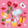 Valentine s day beautiful collections for Stock Images