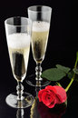 Valentine's day celebration Royalty Free Stock Image