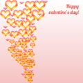 Valentine s day colorful abstract background vector illustration Stock Photo