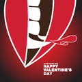 Valentine's Day Dracula Theme - Poster Banner Vector flat design