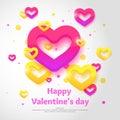 Valentine`s day. February 14.