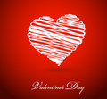 Valentine's Day Greeting card Stock Photo