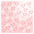 Valentine's day greeting card or background Royalty Free Stock Images