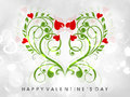 Valentine's Day greeting card or gift card Royalty Free Stock Image