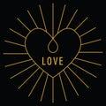Valentine's Day Love Card