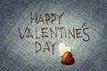 Valentine's Day. Love greeting card.