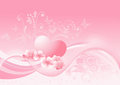 Valentine s day pink romance for your design Royalty Free Stock Photography