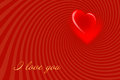 Valentine's Day red background-02 Royalty Free Stock Photos