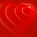 Valentine's Day red background-04 Royalty Free Stock Image