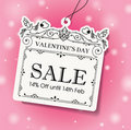 Valentine\\\'s Day Sale Tag
