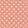 Valentine's seamless pattern Royalty Free Stock Photo