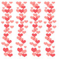 Valentine scrapbook frame Royalty Free Stock Photography