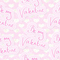 Valentine Seamless Background Royalty Free Stock Image
