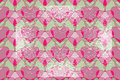 Valentine seamless backgrounds pattern gentle with grunge elements Stock Photo