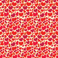 Valentine seamless pattern Stock Photo