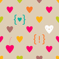 Valentine seamless pattern Royalty Free Stock Photography