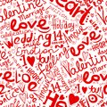 Valentine seamless pattern for your design this is file of eps format Royalty Free Stock Photos