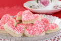 Valentine Sugar Cookies Royalty Free Stock Images