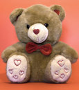 Valentine teddy Royalty Free Stock Images