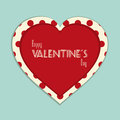 Valentine vintage background Royalty Free Stock Image