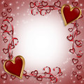 Valentine or wedding card square Royalty Free Stock Photo