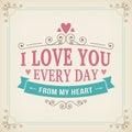 Valentine And Wedding Typograp...